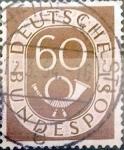 Sellos de Europa - Alemania -  Intercambio 0,30 usd 60 pf. 1952