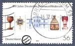 Sellos del Mundo : Europa : Alemania : 100 años del Museo Masónico Alemán en Bayreuth
