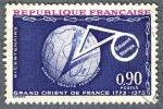 Sellos de Europa - Francia -  Bicentenario Gran Oriente de Francia 1773-1973