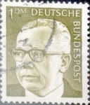 Sellos de Europa - Alemania -  Intercambio 0,30 usd 1 marco 1970