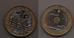 monedas de Europa - Francia -  juegos mediterráneos