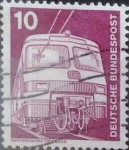 Stamps Germany -  Intercambio 0,20 usd 10 pf. 1975
