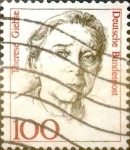 Sellos de Europa - Alemania -  Intercambio 0,25 usd 100 pf. 1988