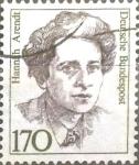 Stamps Germany -  Intercambio 0,25 usd 170 pf. 1988