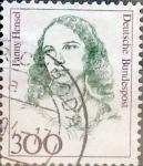 Sellos de Europa - Alemania -  Intercambio 0,65 usd 300 pf. 1989