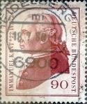 Sellos de Europa - Alemania -  Intercambio 0,30 usd 90 pf. 1974