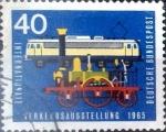 Sellos del Mundo : Europa : Alemania : Intercambio 0,20 usd 40 pf. 1965
