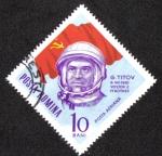 Sellos de Europa - Rumania -  Space