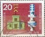 Sellos de Europa - Alemania -  Intercambio 0,20 usd 20 pf. 1965