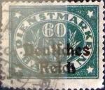 Sellos de Europa - Alemania -  Intercambio nxrl 1,10 usd 60 pf. 1920
