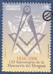 Sellos de America - Uruguay -  150 Años de la Masonería en el Uruguay 1856-2006