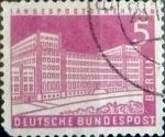 sello : Europa : Alemania : Intercambio mas 0,20 usd 5 pf. 1957