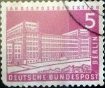 Stamps : Europe : Germany :  5 pf. 1957