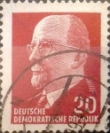 Stamps Germany -  Intercambio 0,20 usd 20 pf. 1961