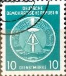 Sellos de Europa - Alemania -  Intercambio 0,25 usd 10 pf. 1954