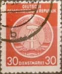 Sellos de Europa - Alemania -  Intercambio 0,25 usd 30 pf. 1958