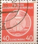 Stamps : Europe : Germany :  40 pf. 1954