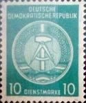 Sellos del Mundo : Europa : Alemania : Intercambio 0,25 usd 10 pf. 1957