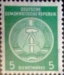 Sellos de Europa - Alemania -  Intercambio 0,25 usd 5 pf. 1957