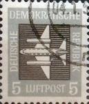 Sellos del Mundo : Europa : Alemania : Intercambio js 0,20 usd 5 pf. 1957