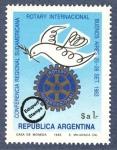 Sellos de America - Argentina -  Conferencia Regional Sudamericana Rotary Internacional
