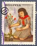 Sellos del Mundo : America : Bolivia : Homenaje al Boy Scout Boliviano