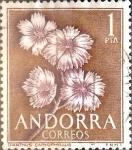 Sellos del Mundo : Europa : Andorra : Intercambio nfxb 0,60 usd 1 peseta 1966