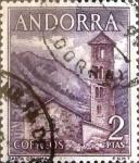 Sellos del Mundo : Europa : Andorra : Intercambio 0,50 usd 2 pesetas 1963