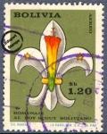 Sellos de America - Bolivia -  Homenaje al Boy Scout Boliviano
