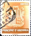 Stamps : Europe : Andorra :  Intercambio 0,20 usd 3 pesetas 1982