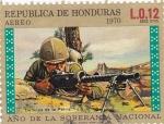 Stamps Honduras -  Año de la soberanía nacional
