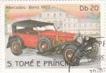 Sellos de Africa - Santo Tomé y Principe -  Mercedes Benz 1927-coches de epoca