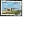 Stamps Asia - Uzbekistan -  avion