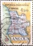 Sellos del Mundo : Africa : Angola : Intercambio 0,20 usd 4 escudos 1955