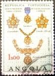 Stamps : Africa : Angola :  Intercambio 0,20 usd 1 escudo 1967