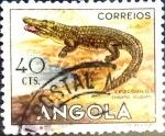 Sellos del Mundo : Africa : Angola : Intercambio cxrf 0,20 usd 40 cents. 1953