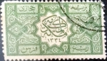 Stamps : Asia : Saudi_Arabia :  Intercambio 32,50 usd 1/2 piastra 1916