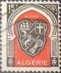 Stamps : Africa : Algeria :  Intercambio 0,20 usd 15 francos 1949