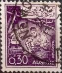 Stamps : Africa : Algeria :  Intercambio 0,20 usd 30 cents. 1965