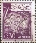 Stamps : Africa : Algeria :  Intercambio jxa 0,20 usd 30 cents. 1965