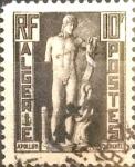 Stamps : Africa : Algeria :  Intercambio jxa 0,20 usd 10 francos 1952