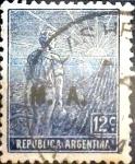 Sellos del Mundo : America : Argentina :  12 cents. 1912
