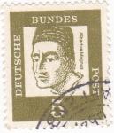 Stamps Germany -  Albertus Magnus