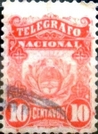 Stamps : America : Argentina :  Intercambio daxc 0,20 usd 10 cents. 1xxx