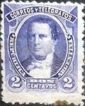 Stamps Argentina -  Intercambio daxc 0,50 usd 2 cents. 1890
