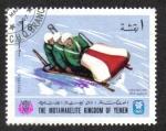 Sellos del Mundo : Asia : Yemen : Juegos Olímpicos de Invierno en Grenoble