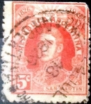 Sellos del Mundo : America : Argentina : Intercambio 0,25 usd 5 cents. 1926