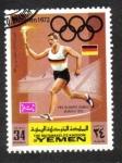 Sellos del Mundo : Asia : Yemen : Juegos Olímpicos de Verano 1972, Munich