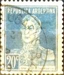 Sellos del Mundo : America : Argentina : Intercambio 0,25 usd 20 cents. 1923