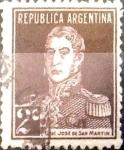 Sellos de America - Argentina -  Intercambio 0,25 usd 2 cents. 1923